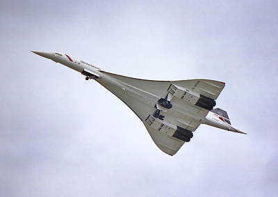 Concorde 02 Art Print by Paul Gulliver