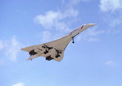 Concorde 04 Art Print by Paul Gulliver