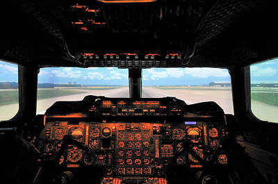 Photograph - Concorde Flight Simulator by Tim Beach