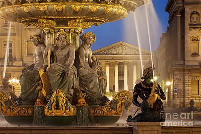 Concorde Fountain Art Print