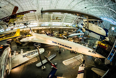 Air And Space Museum Photograph - Concorde by Randy Scherkenbach