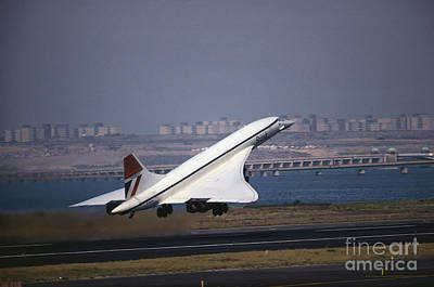 Photograph - Concorde by Tim Holt