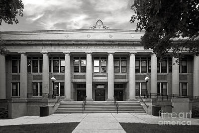 Concordia University Chicago Addison Hall Art Print by University Icons