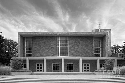 Concordia University Christ Triumphant Chapel Art Print