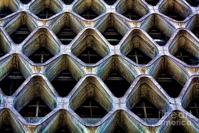 Photograph - Concrete Facade by Kim Wilson