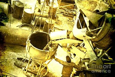 Concrete Mixer  Original by Lali Kacharava