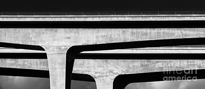 Photograph - Concrete Paths by Alexander Kunz