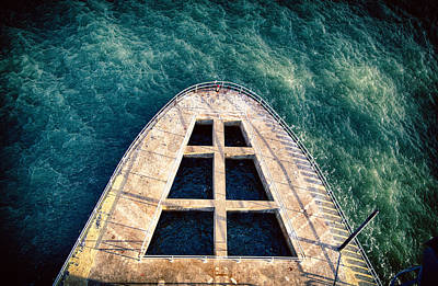 Photograph - Concrete Ship by Digiblocks Photography