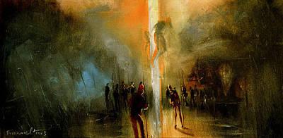 Painting - Condemnation by David Figielek