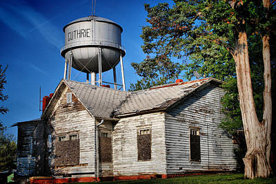 Photograph - Condemned - Guthrie Oklahoma by Gregory Ballos