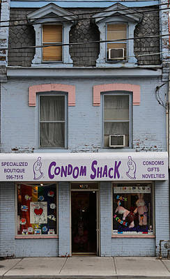 Photograph - Condom Shack Toronto by Andrew Fare