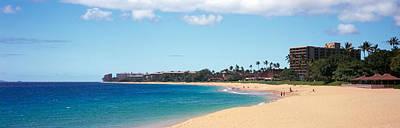 Condominiums Photograph - Condominium On The Beach, Maui, Hawaii by Panoramic Images