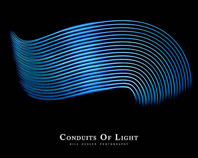 Photograph - Conduits Of Light by Bill Kesler