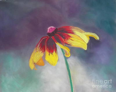 Painting - Cone Flower by Calliope Thomas