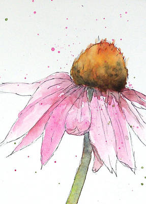 Coneflower 1 Art Print