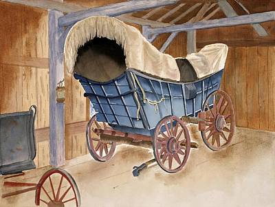 Conestoga Wagon Original by Emilee Reed
