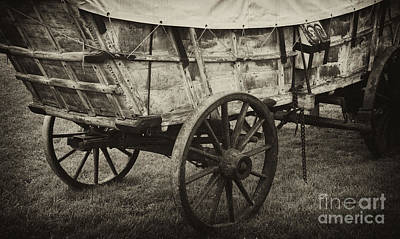 Conestoga Photograph - Conestoga Wagon by Paul W Faust -  Impressions of Light