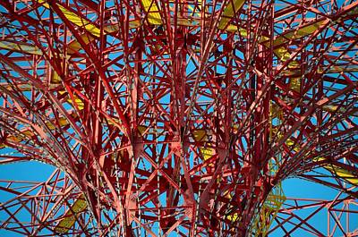 Photograph - Coney Island Abstract Expressionist by Steven Richman