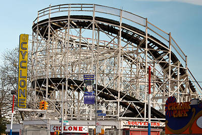 Photograph - Coney Island by Ann Murphy