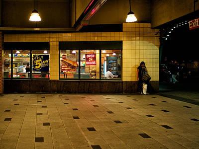 Photograph - Coney Island Nights by Cornelis Verwaal