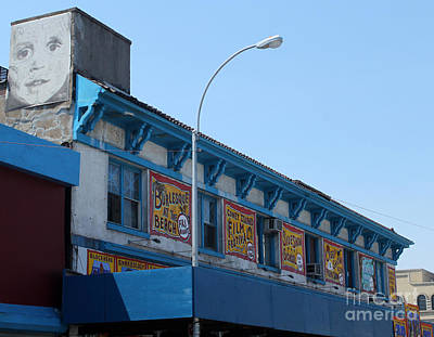 Photograph - Coney Island Side Shows by Gregory Dyer