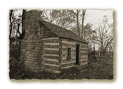 Photograph - Confederate Cabin by Jeff Brunton