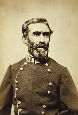 Confederate General Braxton Bragg 1861 Art Print by Mountain Dreams