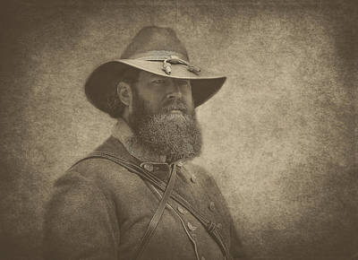 Photograph - Confederate General by Pat Abbott