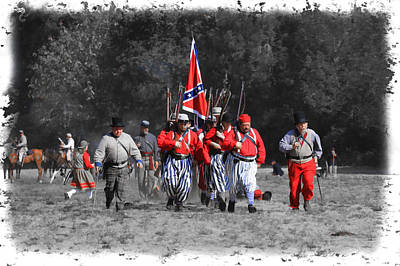 Photograph - Confederate March by Steve McKinzie