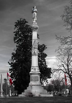 Confederate Monument Art Print