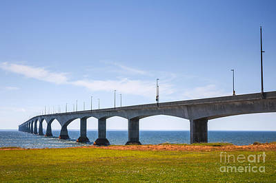 Photograph - Confederation Bridge by Elena Elisseeva