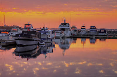 Photograph - Confederation Harbour by Jim Vance