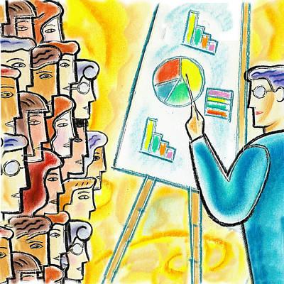 Enterprise Painting - Conference by Leon Zernitsky