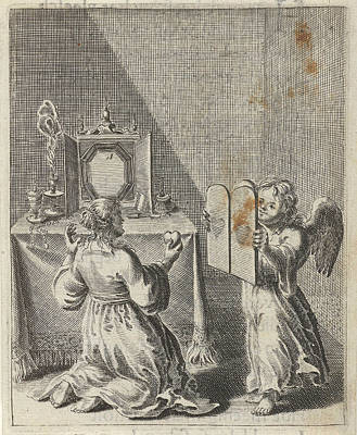 Confession For Vanity And Pride, Print Maker Pieter Nolpe Art Print