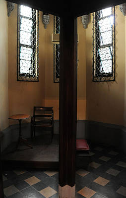 Wall Art - Photograph - Confessional by Mark Sullivan