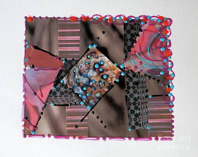 Mixed Media - Confetti Grandure by L Cecka