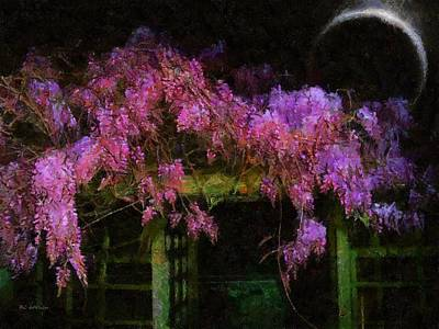 Confetti Of Blossoms Art Print by RC deWinter
