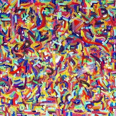 Painting - Confetti by Patrick OLeary
