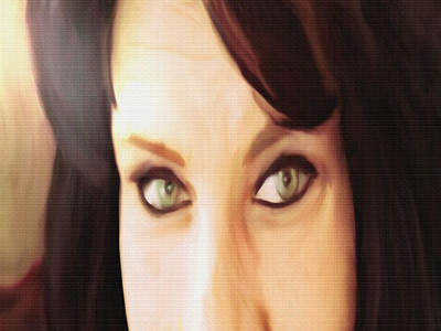 Portrait Study Mixed Media - Confidence by Dennis Buckman