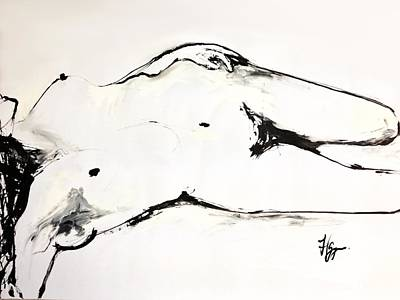 Subtle Drawing - Confidence by Helen Syron