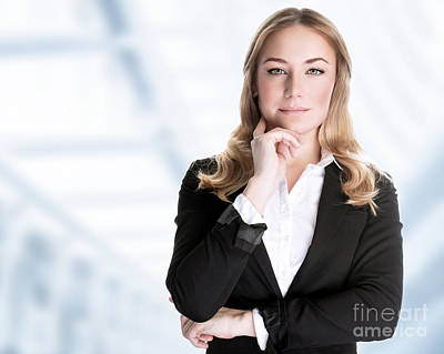 Photograph - Confident Business Woman by Anna Om
