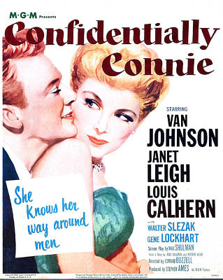 Confidentially Connie, Us Poster, Van Art Print by Everett