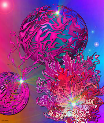 Digital Art - Conflict by Lora Mercado