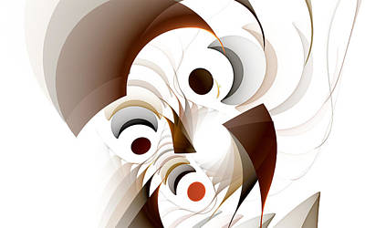 Confusion Art Print by GJ Blackman