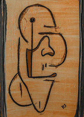 Abstract Expressionism Drawing - Confusion. by Ryan Jennings