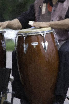 Photograph - Congas by Curtis Dale
