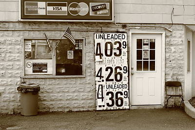 Congers New York - Gas Station Art Print
