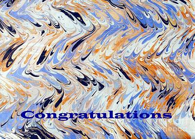 Photograph - Congratulations Card by Barbie Corbett-Newmin