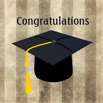 Digital Art - Congratulations Graduate by Florene Welebny
