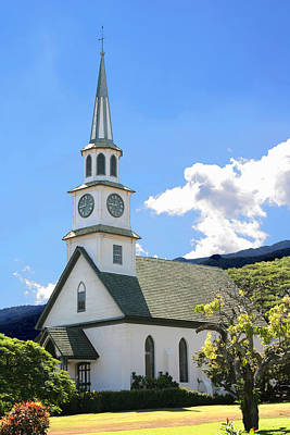 Photograph - Congregational Church1 by John Orsbun